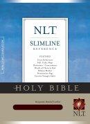 NLT Slimline Reference Bible: Burgundy, Bonded Leather