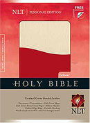 NLT Personal Bible: Cardinal & Creme Tutone, Bonded Leather