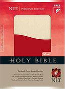 NLT Personal Bible: Cardinal & Creme Tutone, Bonded Leather