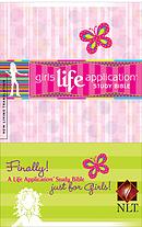 NLT Girls Life Application Study Bible: Hardback