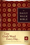NLT Daily Walk Bible: Paperback