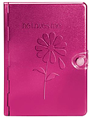 NLT Metal Bible: Pink, Metal, He Loves Me Edition