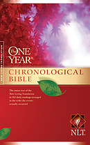 NLT One Year Chronological Bible: Hardback