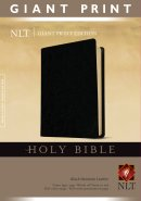 NLT Giant Print Bible: Black, Imitation Leather