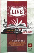 NLT Live Youth Bible: Hardback