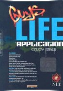 NLT Guy's Life Application Bible: Onyx, Imitation Leather