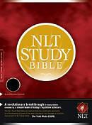 NLT Study Bible: Black, Bonded Leather