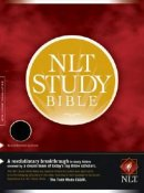 NLT Study Bible: Black, Bonded Leather, Thumb Indexed