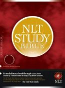 NLT Study Bible: Burgundy, Bonded Leather, Thumb Indexed