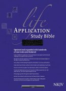 NKJV Life Application Study Bible: Black, Bonded Leather, Thumb Indexed