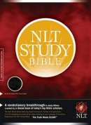 NLT Study Bible: Black, Genuine Leather