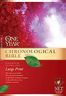 NLT One Year Chronological Slimline Bible: Hardback, Large Print