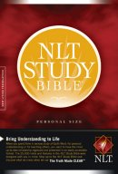 NLT Study Bible Personal Size Paperback