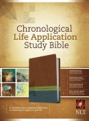 NLT Chronological Life Application Bible Imitation Leather Brown
