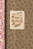 NLT Vintage Gift Hope Devotional NT Psalms and Proverbs Hardback