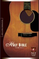 NLT Guitar Pick Bible: Compact, Tutone, Brown & Tan