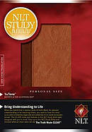 Nlt Study Bible Per Sz Index Tutone Lthl
