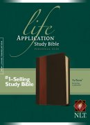 NLT Life Application Study Bible: Personal Size, Tutone Brown/Tan