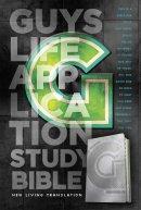 NLT Guys Life Application Study Bible: Leather-Like, Iridium
