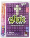 NLT Glipit Bible: Purple, Customisable Silicone Cover