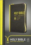 NLT Zips Bible: Yellow, Canvas Cover, Zip