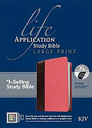 KJV Life Application Study Bible, Large Print