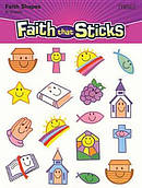 Christian Symbol Smiles Stickers