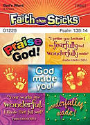 Psalm 139:14 Stickers