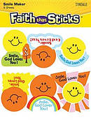 Smile God Loves You Stickers