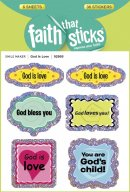 God Is Love Stickers