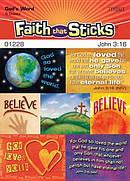 John 3 16 Stickers