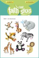 Zoo Adventures Stickers