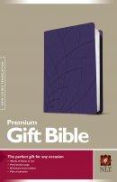 NLT Premium Gift Bible Purple Imitation Leather