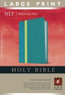 NLT Teal Personal Size Large Print Bible