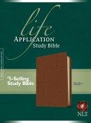 NLT Life Application Study Bible: Midtown Brown, Leatherlike