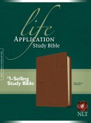 NLT Life Application Study Bible: Midtown Brown, Leatherlike