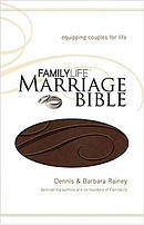 NKJV Family Life Marriage Bible: Dark Brown, LeatherSoft