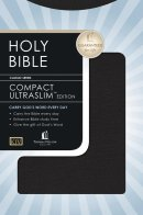 KJV Compact UltraSlim Bible Imitation Leather Black