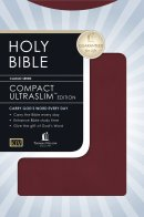 KJV Compact UltraSlim Bible Imitation Leather Burgundy