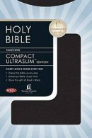 NKJV Compact UltraSlim Bible Imitation Leather Black