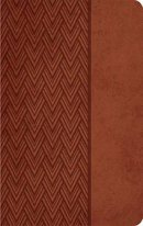NKJV Compact Ultraslim Bible: Brown, Imitation Leather