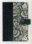 NKJV Womens Designer Fabric Bible: Black & White,