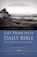 NKJV Charles F. Stanley Life Principles Daily Bible: Hardback