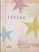 Journal: I Shine Value/Identity/Purpose (Elastic Band Book Marker)