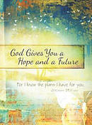 God Gives you Hope and a Future: Scripture Journal for Teens