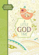 Adult Colouring Book: Little God Time Colouring Devotional,A