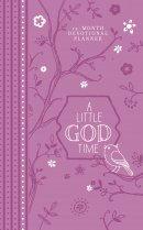 2019 12-Month Devotional Planner: A Little God Time (Purple Luxleather)