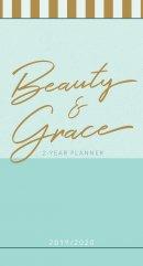 2019/2020 2 Year Pocket Planner: Beauty & Grace (Pale Blue)