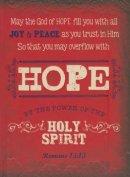 """Retro Blessings """"Hope"""" (Red) Hardcover Journal"""