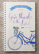 Give Thanks to the Lord Planner 2017